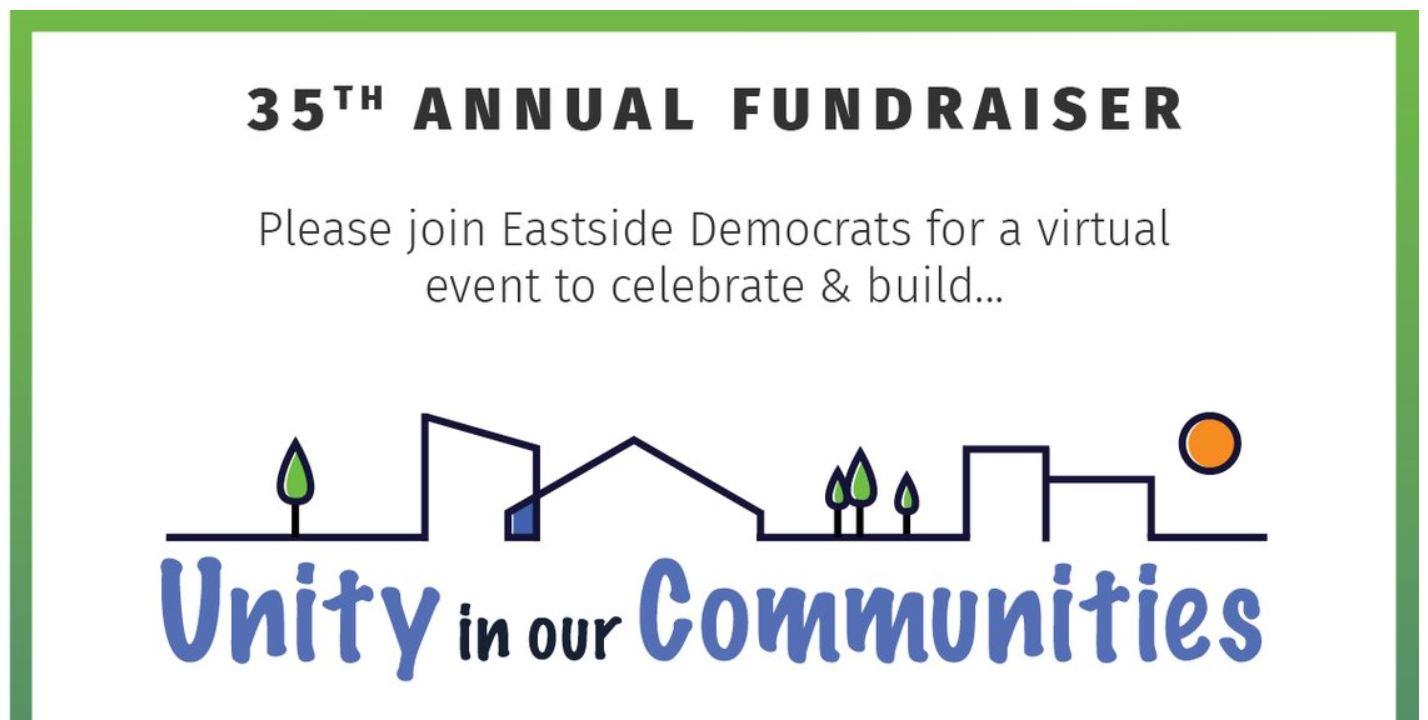 Eastside Democrats Fundraiser